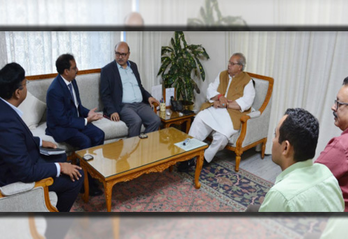 Tata group meets J&K Governor to explore investment opportunities in State