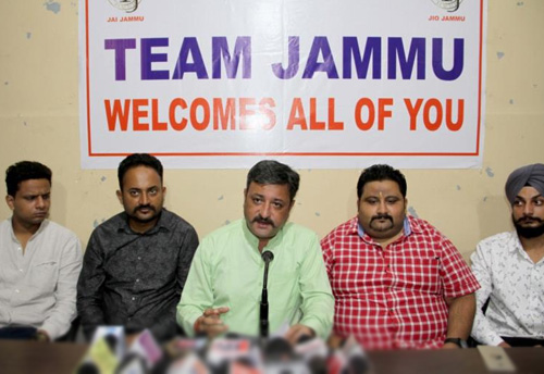 Team Jammu stresses on constitutional measures to protect jobs of locals and their cultural identity