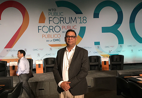 WTO Public Forum 2018: FISME cautions against haste in rule making at WTO on e-commerce