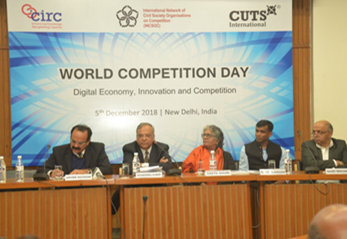 Former CCI Chairman bats for adopting World Competition Day on Dec 5