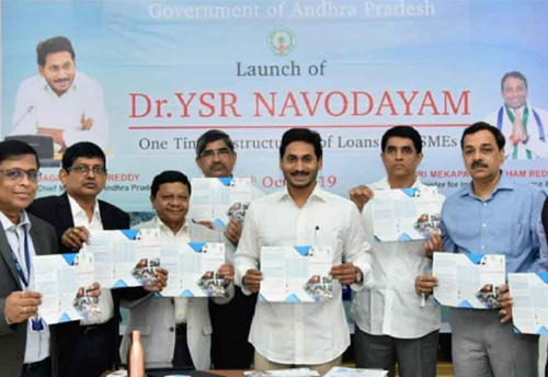 'YSR Navodayam scheme' launched for MSMEs in AP