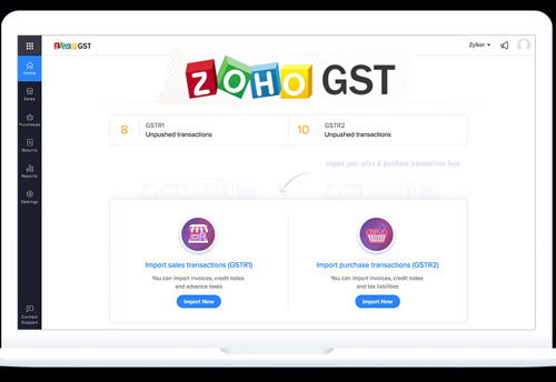 Zoho offers GST compliant software to SMEs free of cost