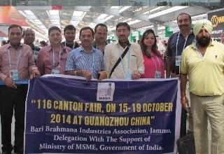 Jammu industry explores biz opportunities at Canton Fair
