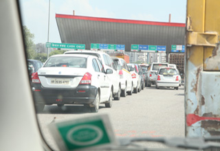 Manesar units, residents threaten NHAI with court case against doubling of toll on NH 8