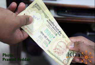 RBI to issue Rs 500 bank notes with rupee symbol